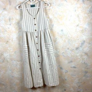 Urban Renewal Striped Button Down Dress